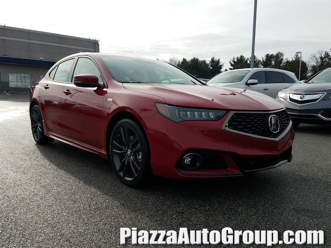 New 2019 Acura TLX 3.5 V-6 9-AT P-AWS with A-SPEC RED Sedan in West Chester PA