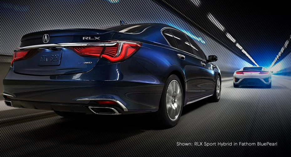 Shown:RLX sport hybrid in blue fathom pearl
