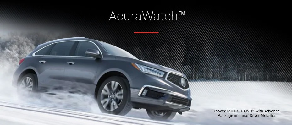 AcuraWatch Shown: MDX SH-AWD with Advance Package Package in Lunar Silver Metallic