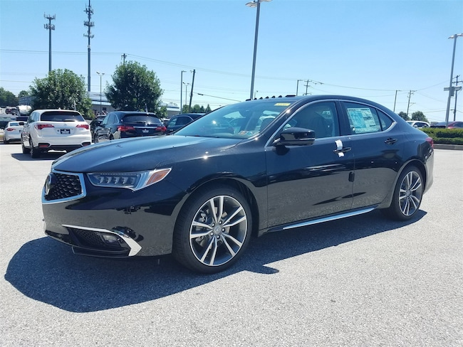 new 2019 acura tlx 3 5 v 6 9 at p aws with advance package for sale in west chester pa vin. Black Bedroom Furniture Sets. Home Design Ideas