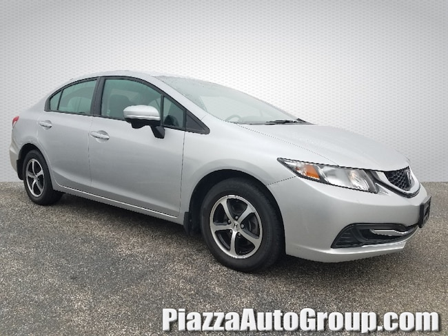 Certified 2015 Honda Civic Sedan SE CVT SE in Philadelphia, PA