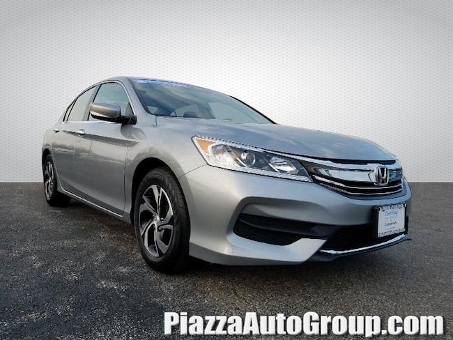 Certified 2017 Honda Accord Sedan LX LX Manual in Philadelphia, PA