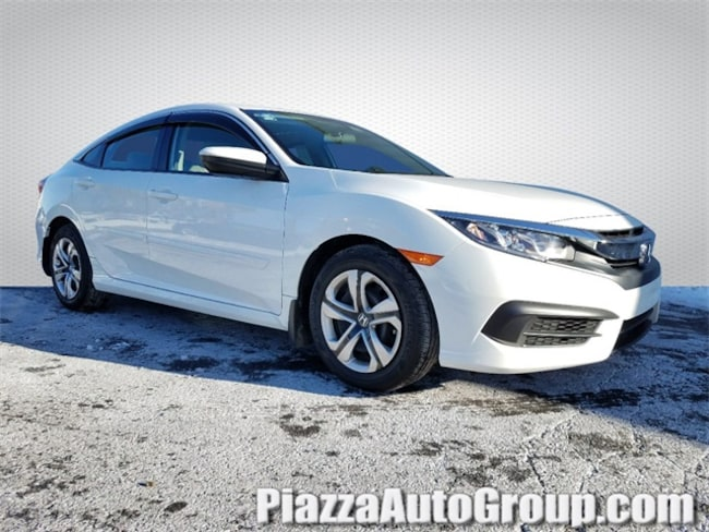 Certified 2017 Honda Civic LX Sedan in Reading, PA