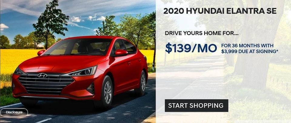 2020 Hyundai Elantra SE Lease