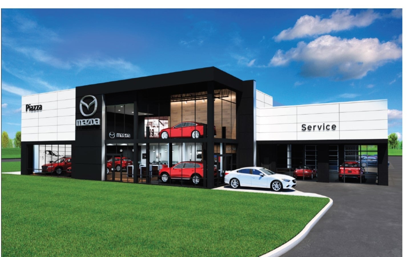 New Mazda Dealership