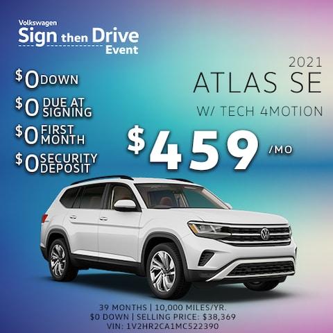 2021 Atlas SE w/ Tech 4motion