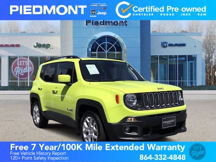 2018 Jeep Renegade Latitude FWD w/ bluetooth SUV