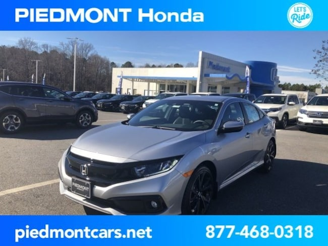 New 2019 Honda Civic Sport Sedan Anderson, SC