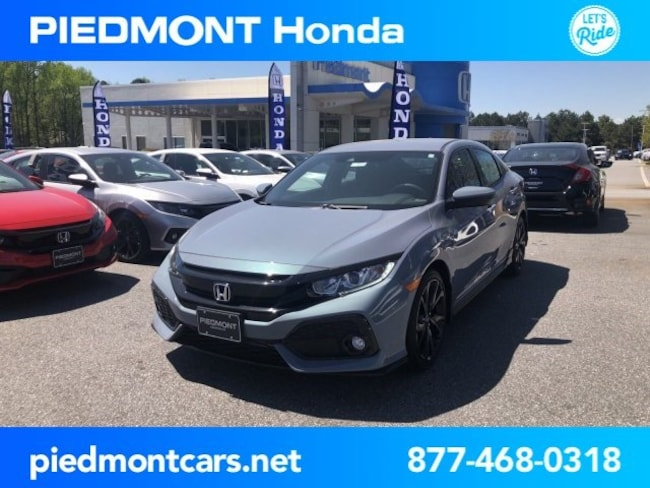 New 2019 Honda Civic Sport Hatchback Anderson, SC