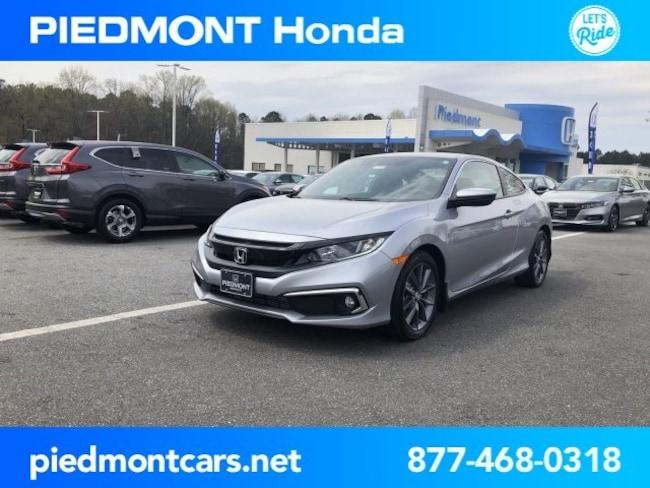 New 2019 Honda Civic EX Coupe Anderson, SC