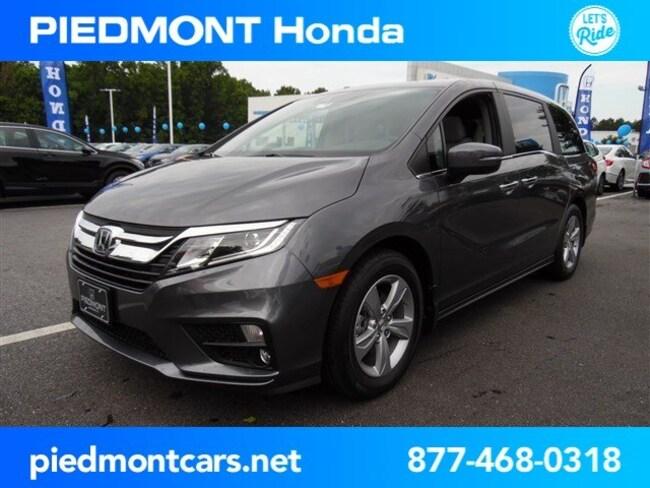 New 2019 Honda Odyssey EX-L w/Navigation & RES Van Anderson, SC