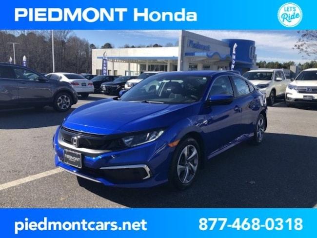 New 2019 Honda Civic LX Sedan Anderson, SC