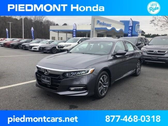 New 2019 Honda Accord Hybrid EX Sedan Anderson, SC