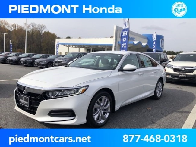 New 2019 Honda Accord LX Sedan Anderson, SC