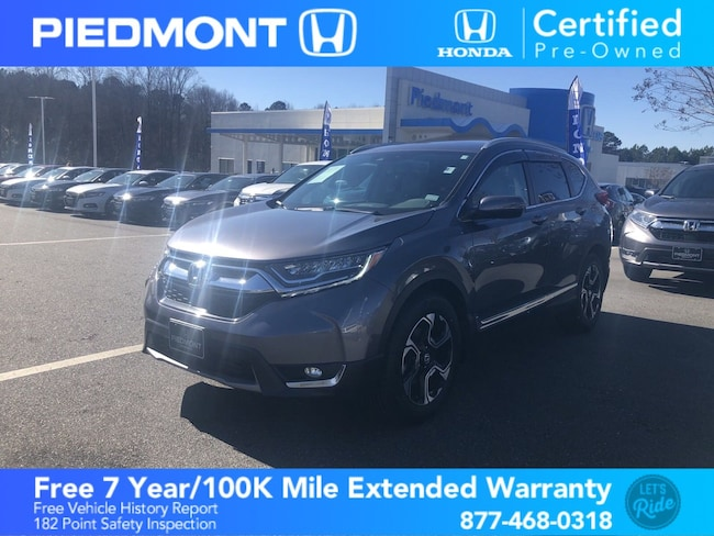 Certified 2017 Honda CR-V Touring 2WD SUV Anderson, SC