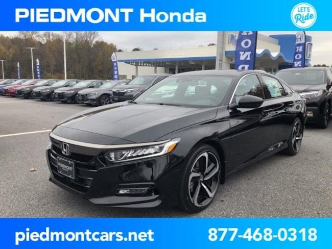 New 2019 Honda Accord Sport Sedan Anderson, SC