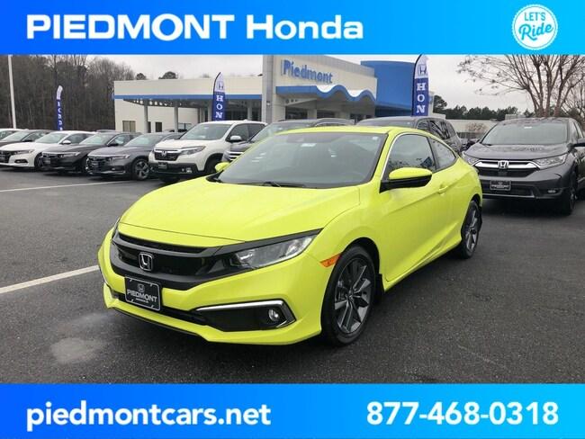New 2019 Honda Civic EX Coupe Anderson, SC