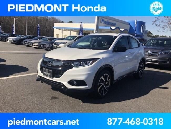New 2019 Honda HR-V Sport 2WD SUV Anderson, SC