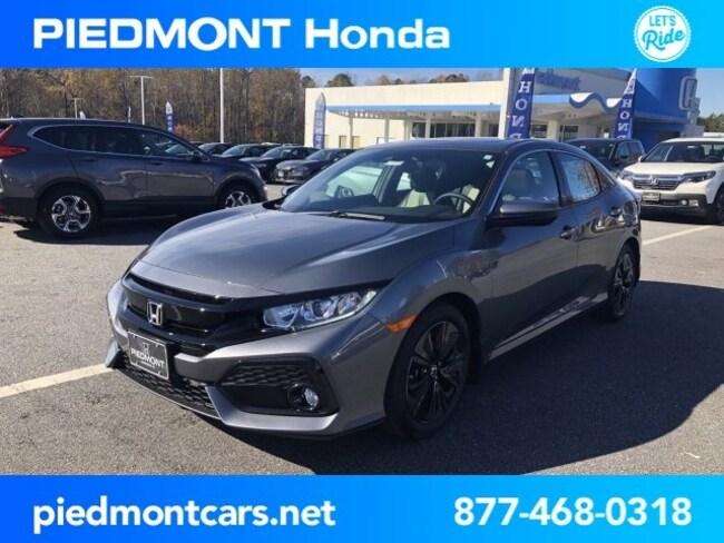 New 2019 Honda Civic EX-L w/Navi Hatchback Anderson, SC