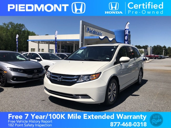 Certified 2017 Honda Odyssey w/ Rear Entertainment Van Anderson, SC