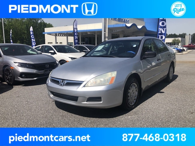 Used 2007 Honda Accord 4dr I4 AT VP Sedan Anderson, SC