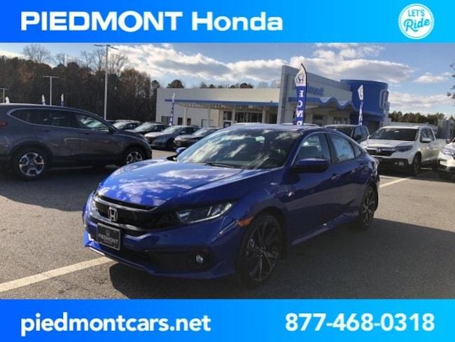 New 2019 Honda Civic Sport Sedan Anderson, SC