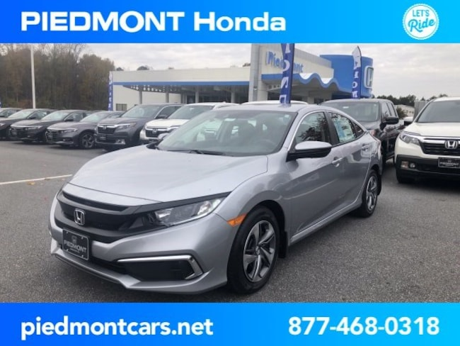 New 2019 Honda Civic LX Sedan Anderson, SC