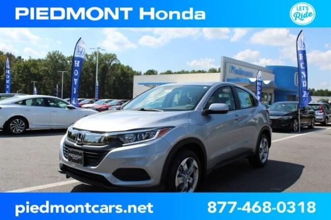 New 2019 Honda HR-V LX 2WD SUV Anderson, SC
