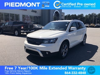 2016 Dodge Journey FWD 4dr Crossroad Plus w/ Sunroof & Leather Seats SUV