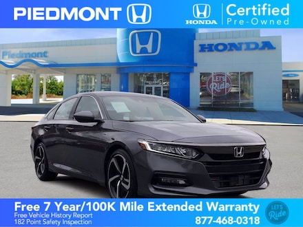 2020 Honda Accord Sport 1.5T CVT w/ bluetooth Sedan
