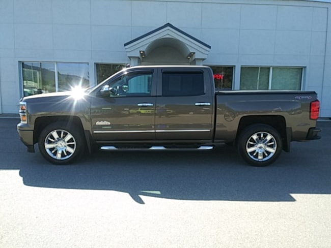 Used 2014 Chevrolet Silverado 1500 High Country Truck Crew Cab Near Sandpoint
