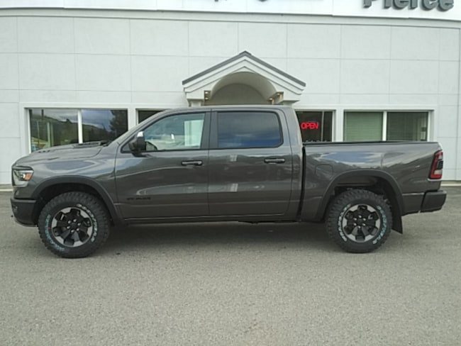 New 2019 Ram 1500 REBEL CREW CAB 4X4 5'7 BOX Crew Cab Near Sandpoint