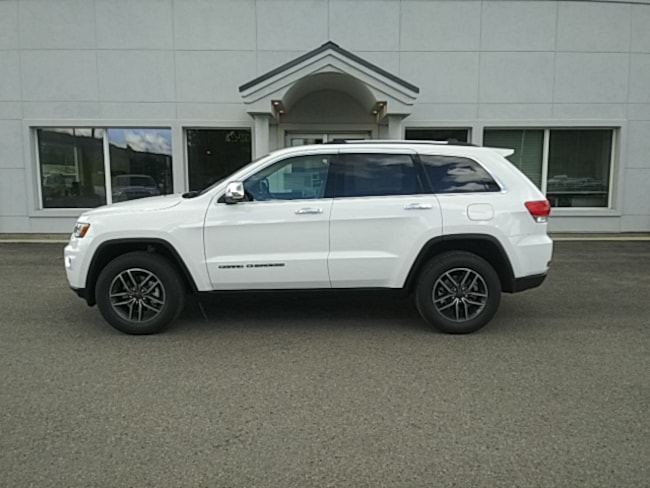 New 2019 Jeep Grand Cherokee LIMITED 4X4 Sport Utility Near Sandpoint