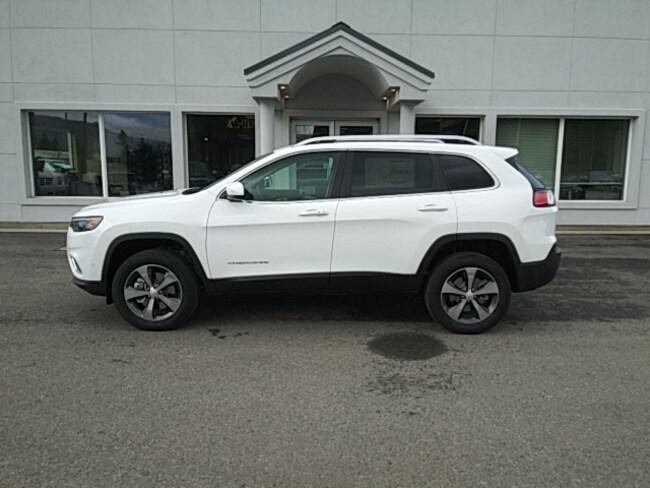 New 2019 Jeep Cherokee LIMITED 4X4 Sport Utility Near Sandpoint