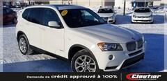2013 BMW X3 TOIT PANO / 2.0 L TURBO / AWD / BLT. / ÉCRAN HD VUS