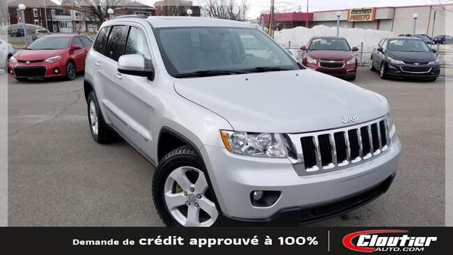 2011 Jeep Grand Cherokee LAREDO / 3.6 L / A-C / BLT. / CAM. REC. / SIÈ. CH. VUS