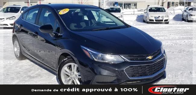 2017 Chevrolet Cruze LT / 1.4 L / TURBO / A-C / RÉG. VIT. / GRP. ÉLECTR À hayon