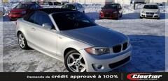 2012 BMW 1 Series 128I / TOIT MOU / GRP. ÉLECTR. / BLT. / SIÈ. CH. Décapotable ou cabriolet
