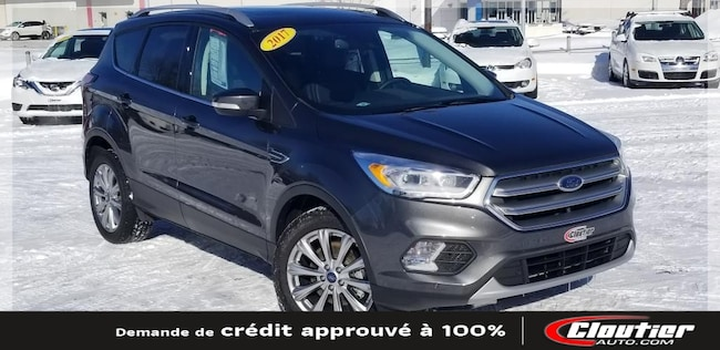 2017 Ford Escape Titanium / 2.0 L / TURBO / A-C / CAM. REC. / NAVI. VUS