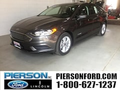 New 2018 Ford Fusion Hybrid SE Sedan in Aberdeen, SD