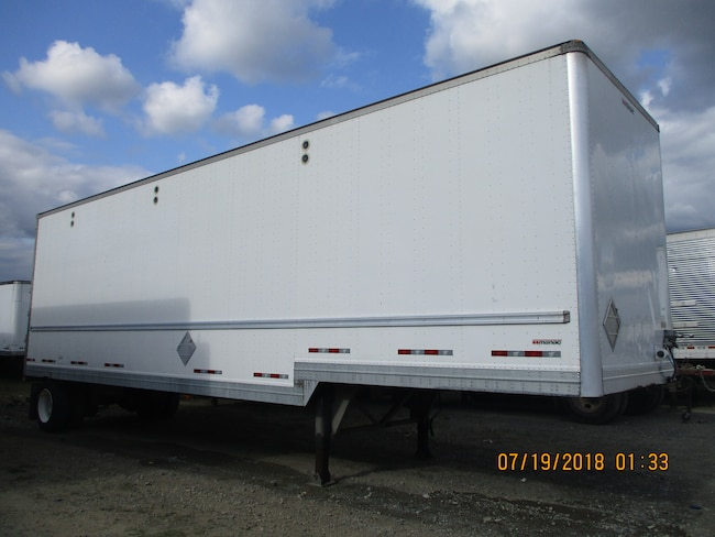 Used 2015 Manac 36\' S/A A/Ride Drop Frame Van For Sale | Surrey BC