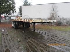 1987 Fruehauf 28' Tandem Axle Flat Deck