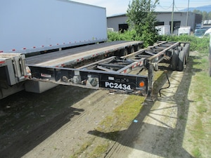 2006 Mac 40'Tridem Air Ride Container Chassis