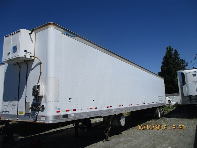 2001 Great Dane 53' Tandem A/Ride Heater Van