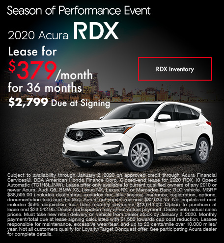 November 2020 Acura RDX