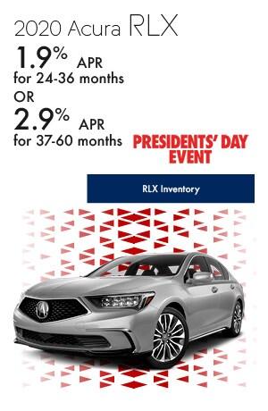 February 2020 Acura RLX