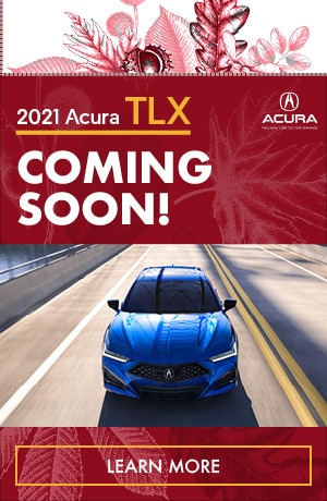 2021 Acura TLX Coming Soon!