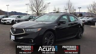2019 Acura TLX 3.5 V-6 9-AT P-AWS with A-SPEC Sedan