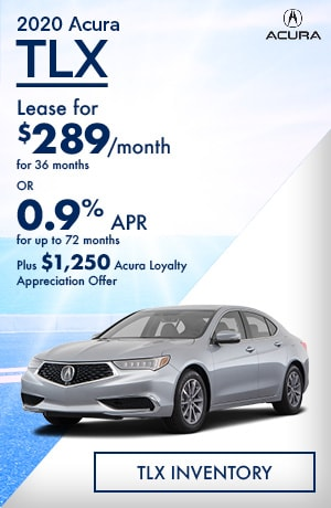 August 2020 Acura TLX