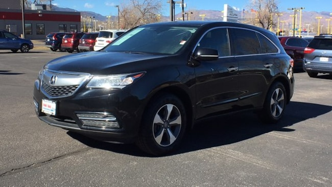 2016 Acura Mdx For Sale >> Used 2016 Acura Mdx For Sale At Pikes Peak Acura Vin